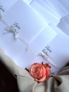 Onice wedding planner | Bergamo | ricevimento _ biglietti di ringrazimento