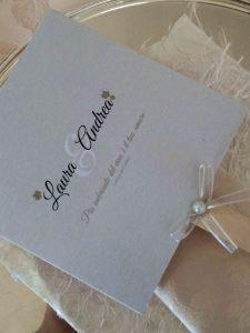 Onice wedding planner | Bergamo | ricevimento _menu a ventaglio