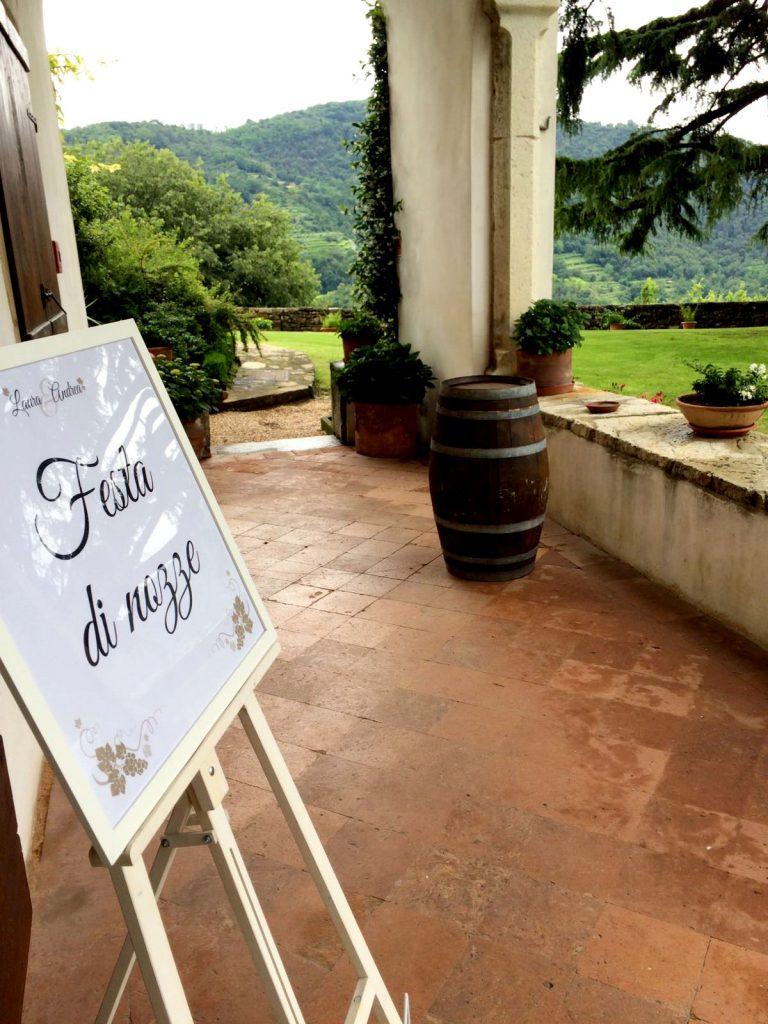Onice wedding planner   Bergamo   ricevimento _ segnaletica di nozze