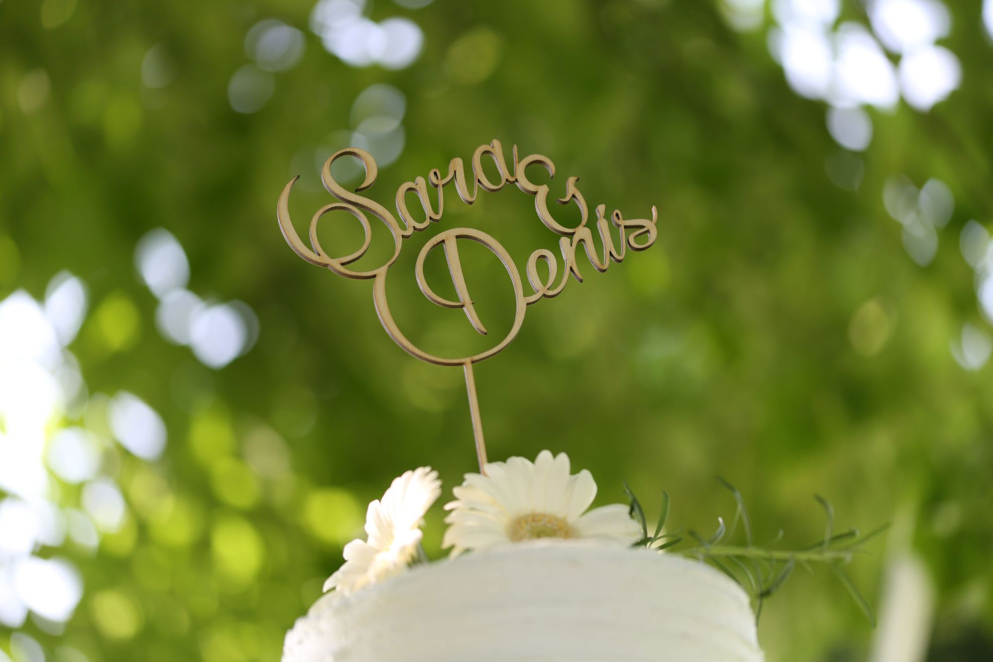Onice event and wedding planner | Matrimonio Sara e Denis - Parco Sigurtà | Torta nuziale