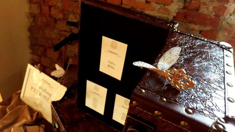 Onice Eventi - tableau de mariage a Harry Potter