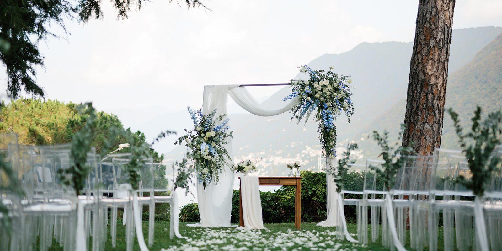 Onice Eventi - matrimonio lago di COmo