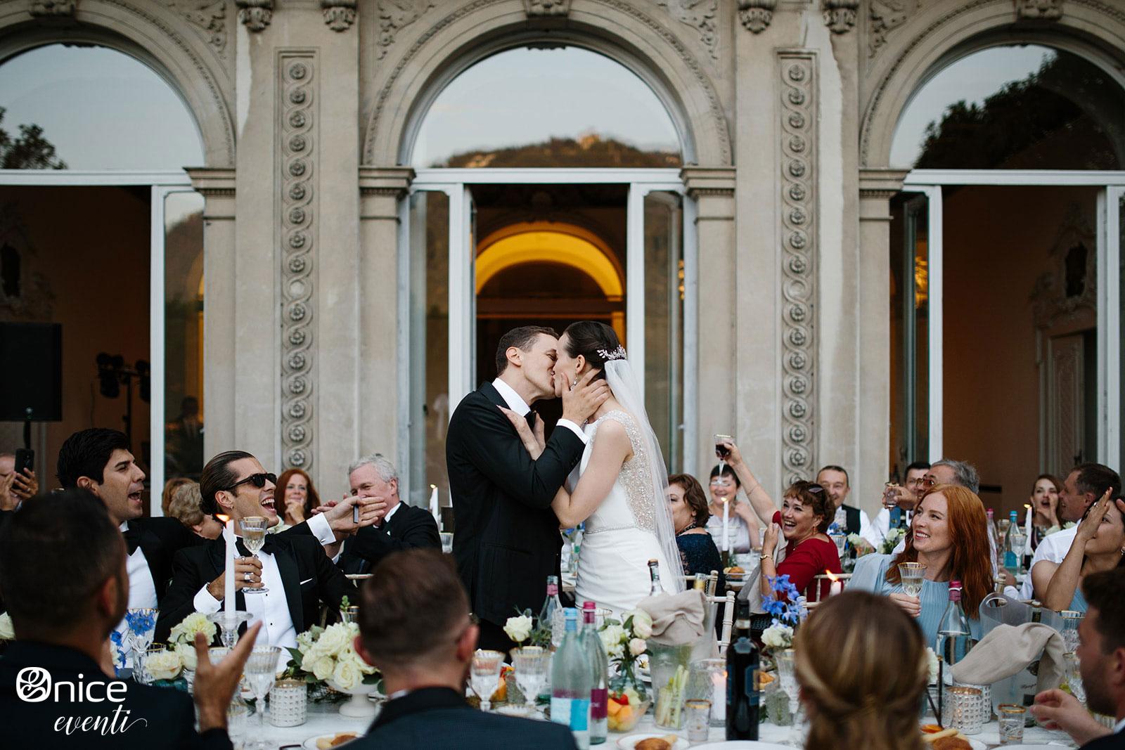 Onice Eventi - ricevimento di matrimonio al lago di Como